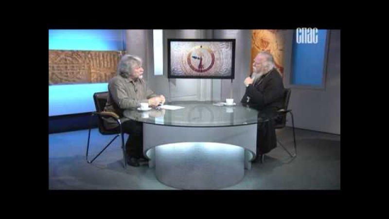 Диалог под часами о Русском мире. В студии христианский философ Виктор Аксючиц (ТК Спас 2015-06-05)