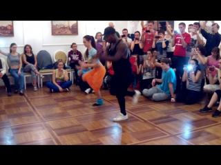 МК Характерные движения в разных танцах (сальса, рубма и афро)