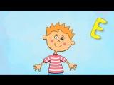 Синий Трактор. Песенка мультик для детей про АЛФАВИТ. Учим буквы. Видео для детей