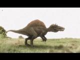Гигантские чудовища-Крупнейший динозавр убийца Спинозавр HD ( Динозавры HD )