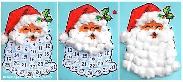 Как сделать новогодний календарь своими руками
