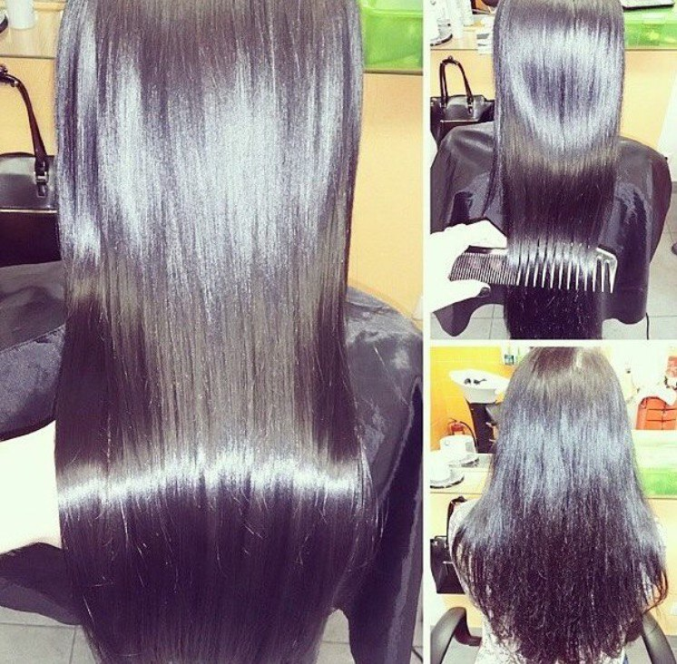 """Бразильское кератиновое выпрямление волос """"Brazilian Blowout"""" от 24 руб."""