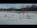 самодельный мини-снегоход