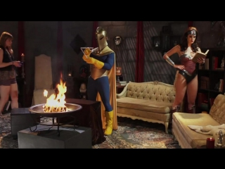 [wonder woman xxx porn parody, scene 1. чудо-женщина порно пародия] claire robbins [hd, sex, tits, big ass, blowjob]