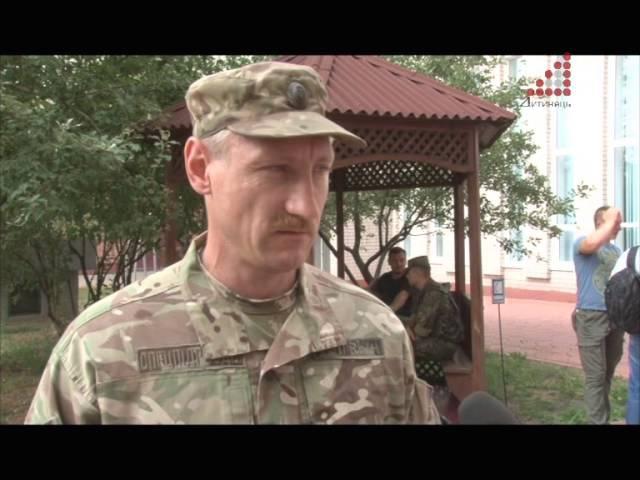 Спецбатальйон Чернігів знову поїхав у АТО. Цього разу у Донецьку область