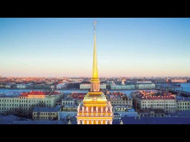 St.Petersburg winter Aerial Timelab.pro