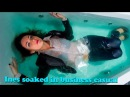 Ines soaked in business casual - free video backup cam wetlook