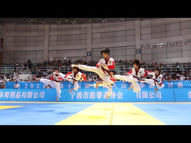 龙拳小子《男子汉》Dragon Boys 防弹少年团 BTS - Boy In Luv 2015 浙江大众跆拳道公开赛