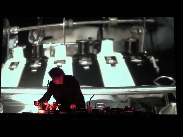Pierre Bastien live at Festival BBmix 2013