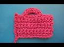 Петелька для пуговицы Crochet buttonhole Вязание крючком Урок 325