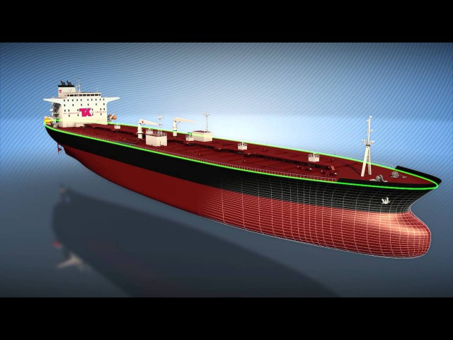 3D Animation Motion Graphics Explainer Video - Evolution of a Super Tanker - Teekay Shipping