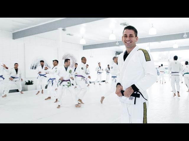 Rafael Mendes Collar Sleeve Guard Study Art of Jiu Jitsu Academy