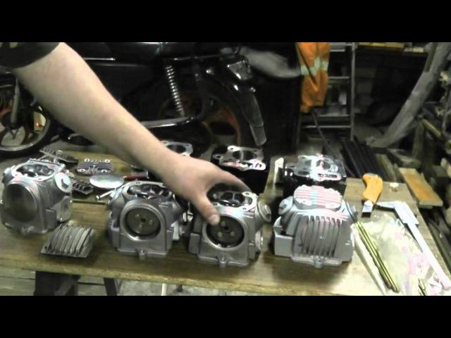 Мопед Альфа об увеличении объёма двигателя