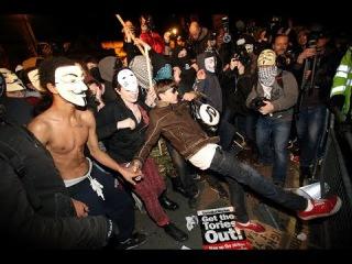 Ночь Гая Фокса в Лондоне отпраздновали протестом (новости)