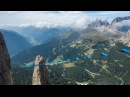 WINGSUIT VS HIGHLINE / Sass Pordoi / Dolomite