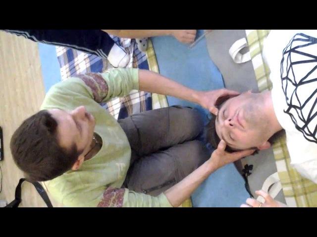 Телесно-ориентированная психотерапия. Глубокий массаж лица. Александр Багатов.
