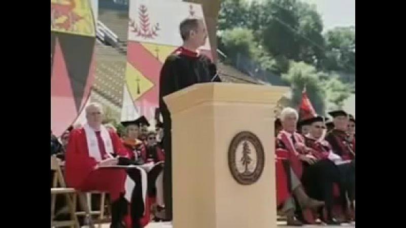 Русский текст выступления Стива Джобса перед выпускниками Стэнфордского университета 2005 1 часть