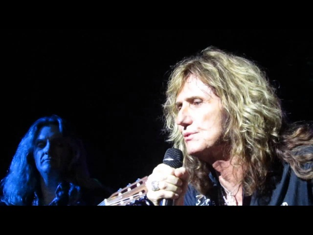 Whitesnake - Soldier of fortune live @ Crocus City Hall, Moscow, Russia - 08/11/2015