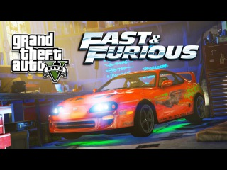 GTA 5 PC Mods - FAST & FURIOUS MOD!