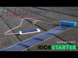 HeLi-on, the most compact solar charger with flexible printed solar cells in it (teaser)