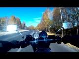 Honda X4, золотая осень и финский рок