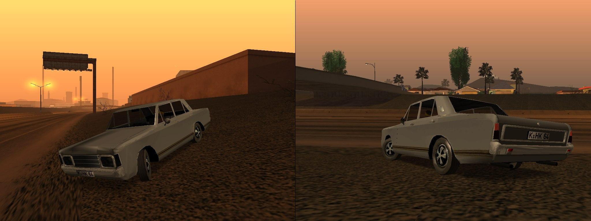 Раритеты Моддинга GTA: San Andreas - Ford 17M