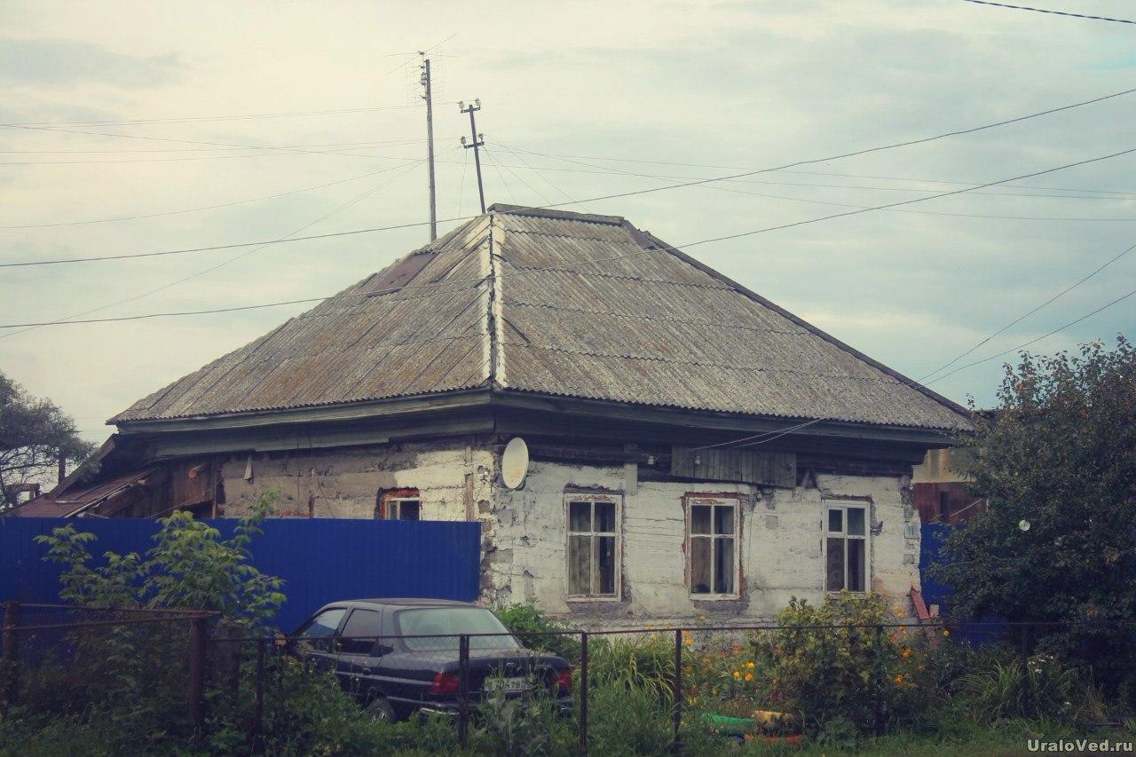Дом в Александровском, где родился писатель Константин Боголюбов