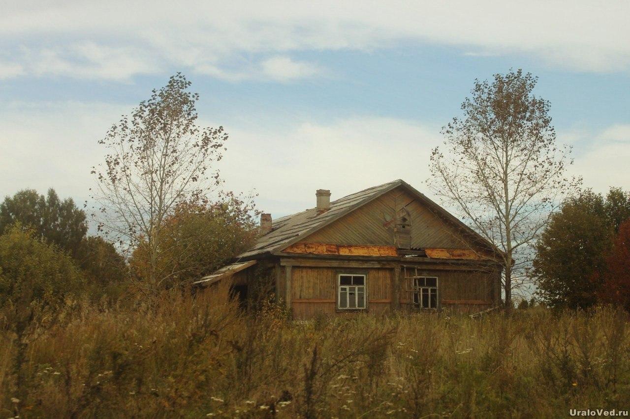 Здание бывшего аэродрома