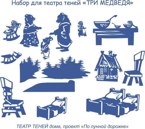 Театр теней для детей сказка