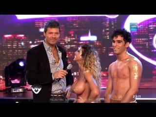 Cinthia Fernández Bailando por un Sueño Strip Dance HD