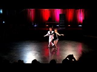Александр Шабалкин и Ксения Сереченко на конкурсе шоу-номеров StarGate