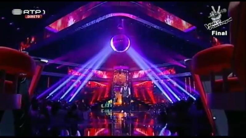 Rui Drumond - When a man loves a woman - Final - The Voice Portugal