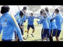 FCB training session: Last session before Mestalla