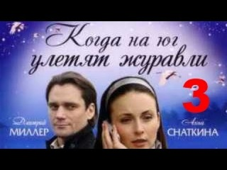 Когда на юг улетят журавли 3 серия (Дмитрий Миллер)