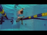 Fast Swimming Techniques - Freestyle Flip Turn - The Push Off and Breakout