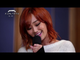 Global Request Show : A Song For You - Halo by Hyolyn (2013.12.13) кфк