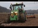 JohnDeere 8360R Ploughing 2014 HD
