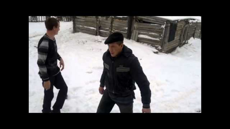Смешная драка пьяных / Funny fight drunken