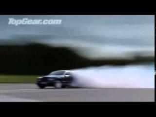 Top Gear - Jeremy destroys tire on Bentley Brooklands (unseen footage)