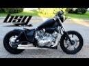 1991 XV1100 Yamaha Virago Bobber Build 2