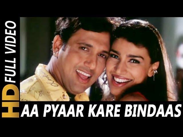 Aa Pyaar Kare Bindas | Sonu Nigam | Chalo Ishq Ladaaye 2000 Songs | Govinda, Rani Mukerji