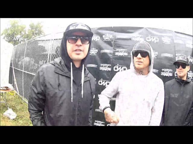 Unrated Backstage Talks to Hollywood Undead at Louder Than Life