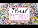 How to Color Zentangle Flowers | Colored Pencil Techniques For Mind Relaxation