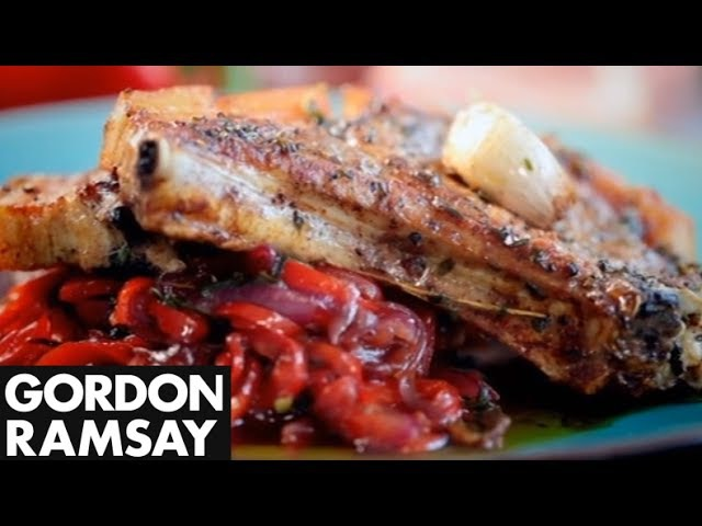 Sweet and Sour Peppers - Gordon Ramsay