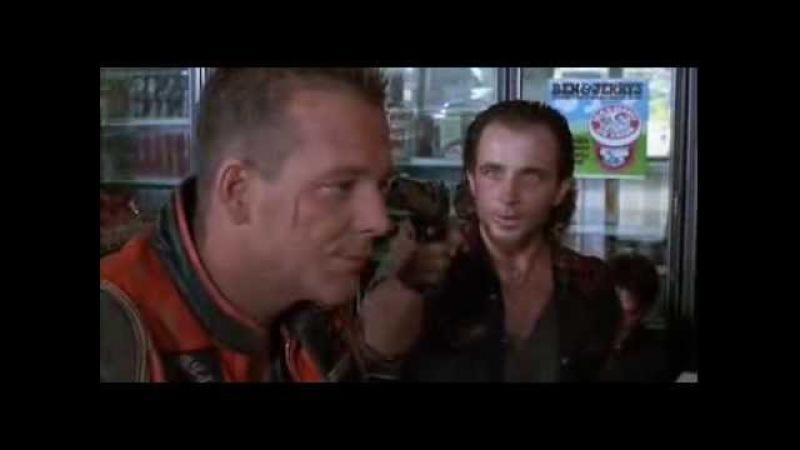 Отрывок из фильма Харли Дэвидсон и ковбой Мальборо Разборка в магазине Микки Рурк