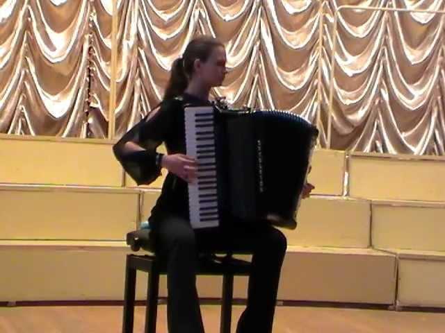 Н.Паганини Вечное движение Анастасия ПЕТРОЧЕНКО (аккордеон)