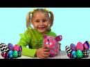 Ферби на русском от маленькой Веры. Распаковка игрушек. Unpacking Furby.
