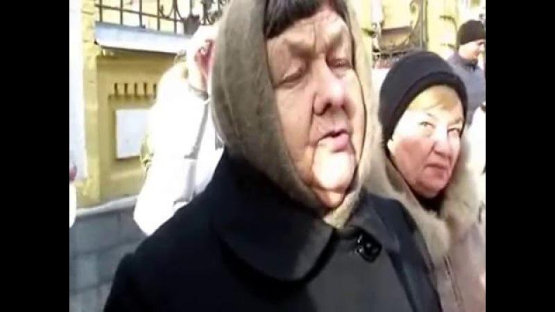 Марія Іванівна і Віра Савченко прийшли до Президента України. 29.01.16.