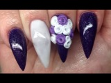 How To Valentines Purple | Non Dominate Hand