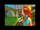 Winx club game(две версии удара Блум)